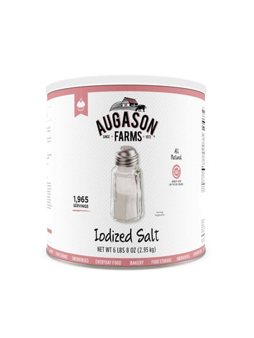 Augason Farms Iodized Salt Large Can