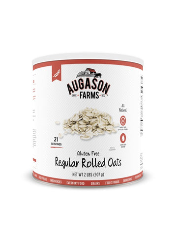 Augason Farms Gluten Free Regular Rolled Oats