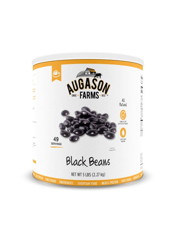 Augason Farms Black Beans