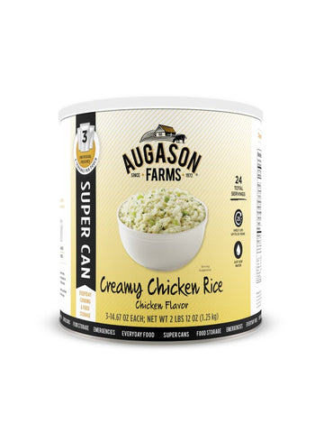 Augason Farms Creamy Chicken Rice Super Can