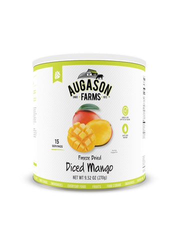 Augason Farms Freeze Dried Diced Mango
