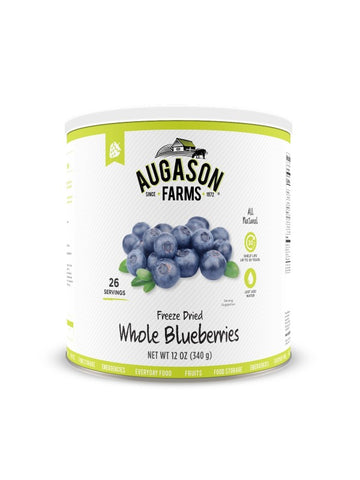 Augason Farms Freeze Dried Whole Blueberries