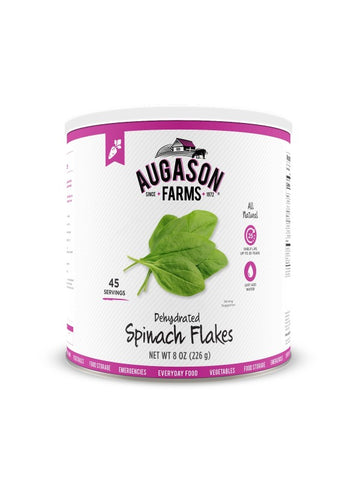 Augason Farms Dehydrated Spinach Flakes