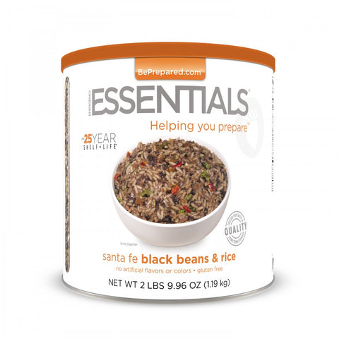 Santa Fe Black Beans & Rice - Emergency Essentials