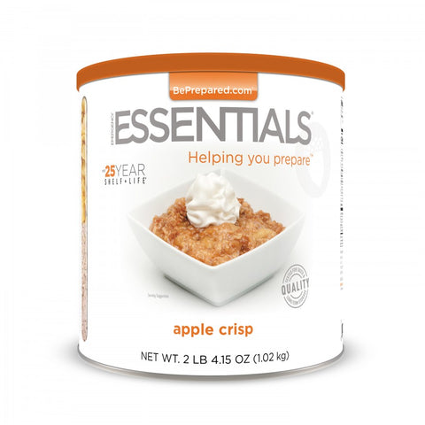Apple Crisp Large Can - Emergency Essentials