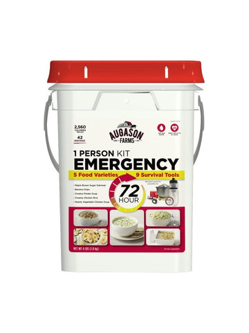 Augason Farms 72 Hour 1-Person Emergency Food Supply Kit