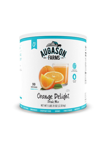 Augason Farms Orange Delight Drink Mix