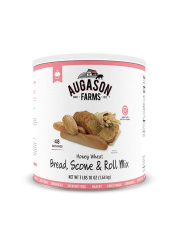 Augason Farms Honey Wheat Bread and Roll Mix