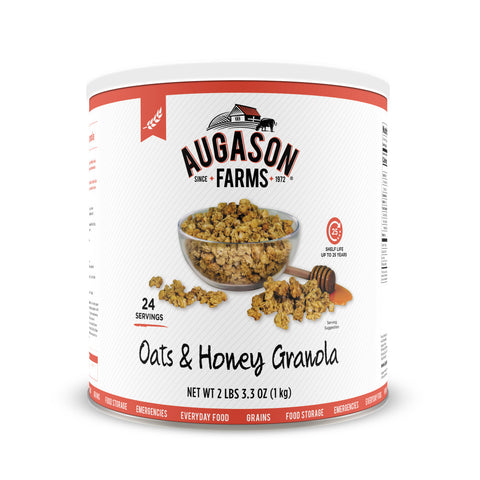 Augason Farms Oats & Honey Granola