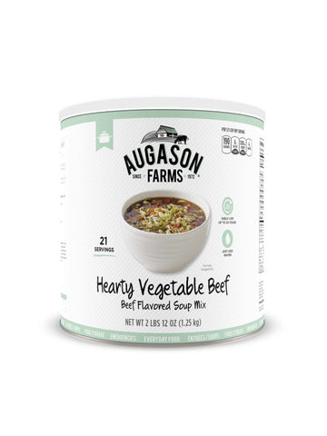 Augason Farms Hearty Vegetable Beef Soup Mix