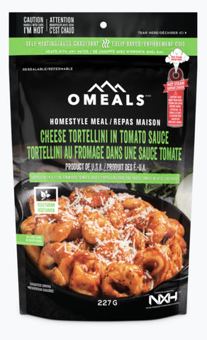 OMEALS CHEESE TORTELLINI IN TOMATO SAUCE
