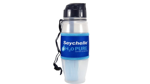 Seychelle 28 oz. Flip Top Bottle - pH20 Pure