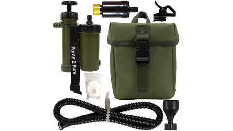 Seychelle Pocket Pump 2 Pure (Radiological/Advanced/pH20) - Green with Molle