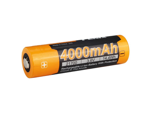 FENIX ARB-L21 4000P HIGH DRAW 21700 LI-ION RECHARGEABLE BATTERY