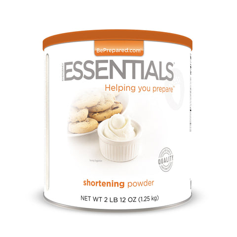 Emergency Essentials Shortening Powder Large Can