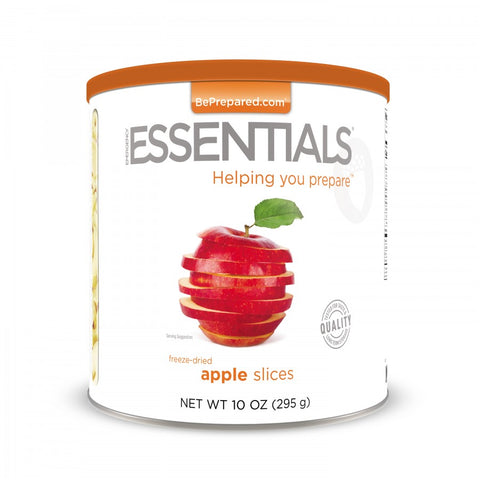 Freeze Dried Apple Slices - Large Can - Emergency Essentials