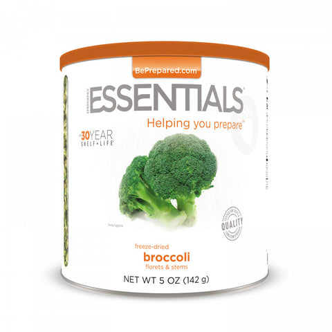 Freeze-Dried Broccoli Large Can - Emergency Essentials