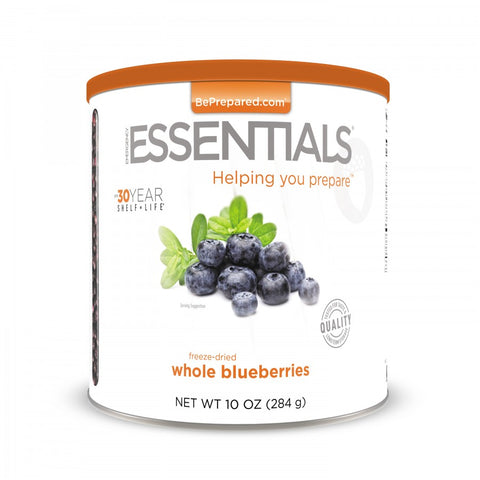 Freeze-Dried Whole Blueberries Large Can - Emergency Essentials