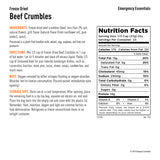 Freeze-Dried Ground Beef (Cooked) Pre Order - Emergency Essentials