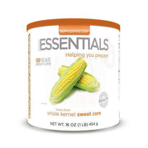 Freeze Dried Super Sweet Corn - Emergency Essentials