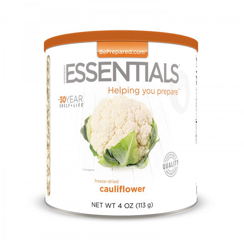 Freeze Dried Cauliflower - Emergency Essentials