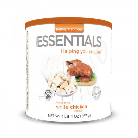 Freeze-Dried Cooked White Chicken Pre Order - Emergency Essentials