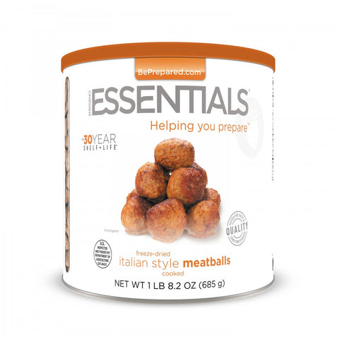 Freeze Dried Italian Meatballs Pre Order - Emergency Essentials