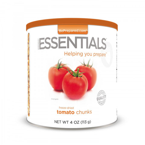 Freeze Dried Tomato Chunks - Large Can - Emergency Essentials