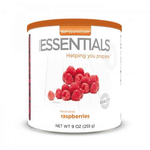 Emergency Essentials Freeze-Dried Raspberries Large Can