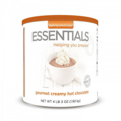 Creamy Hot Chocolate - Emergency Essentials