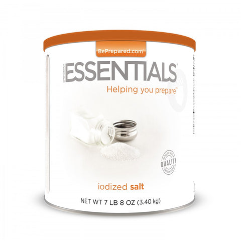 Emergency Essentials Iodized Salt Large Can