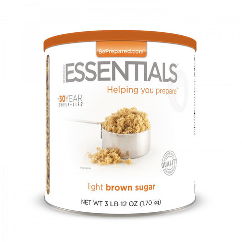 Light Brown Sugar Large Can - Emergency Essentials