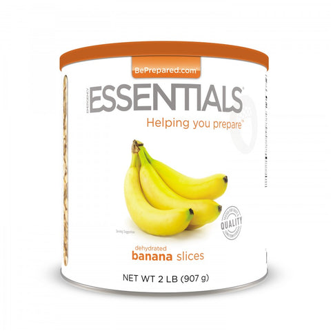 Emergency Essentials Dehydrated Banana Slices Large Can