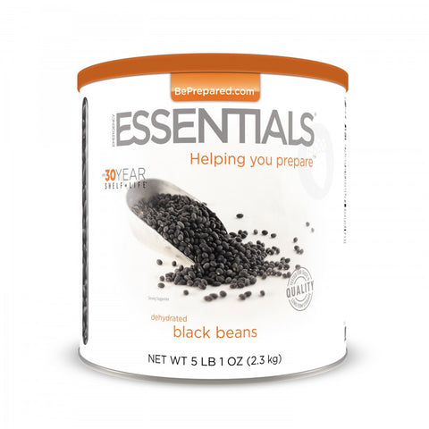 Black Beans Large Can - Emergency Essentials