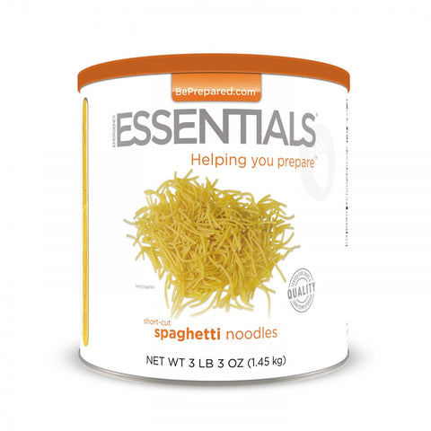 Spaghetti Noodles - Large Can - Emergency Essentials