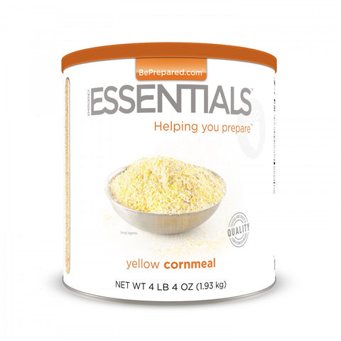 Yellow Cornmeal - Large Can - Emergency Essentials