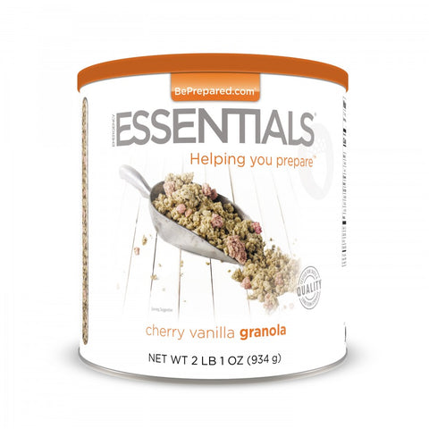 Cherry Vanilla Granola - Emergency Essentials