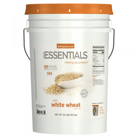 SuperPail™ Soft White Wheat - Emergency Essentials