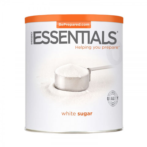 White Sugar Large Can - Emergency Essentials
