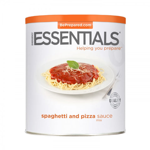 Spaghetti and Pizza Sauce Mix - Large Can - Emergency Essentials