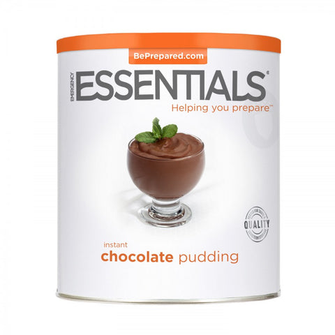 Instant Chocolate Pudding - Large Can - Emergency Essentials