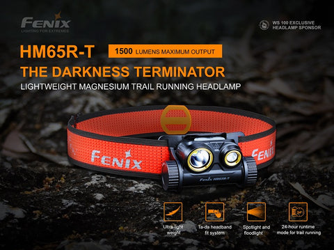 Fenix HM65R-T Trail Running Headlamp
