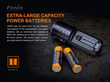 FENIX LR35R 10000 LUMEN RECHARGEABLE FLASHLIGHT
