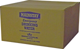 Mainstay Emergency Drinking Water - 125 mL Packet (Case of 60)