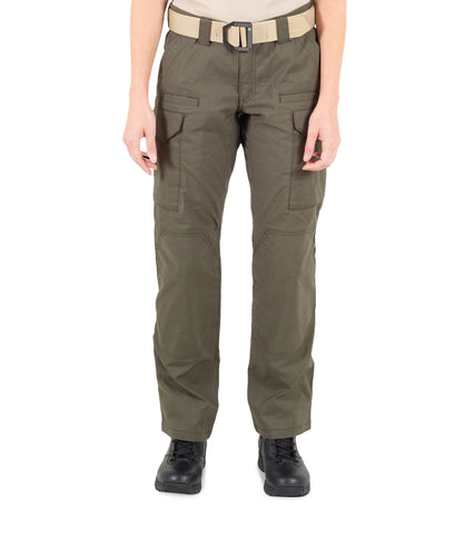 FIRST TACTICAL WOMEN'S V2 TACTICAL PANTS - OD GREEN