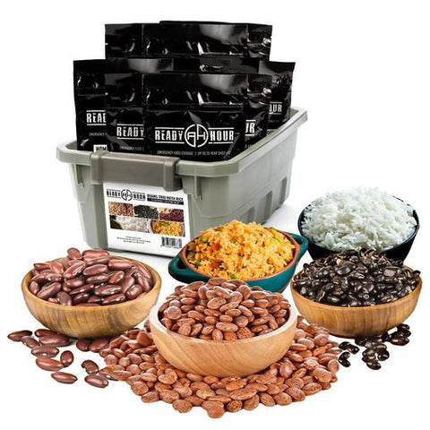 Ready Hour Beans Trio With Rice Kit