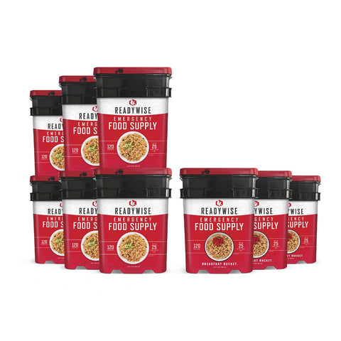 ReadyWise Package of Long Term Emergency Food Supply - 1080 Servings