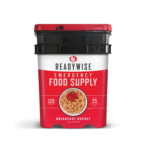 ReadyWise 120 Serving Breakfast Bucket