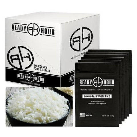 Ready Hour Long Grain White Rice Case Pack