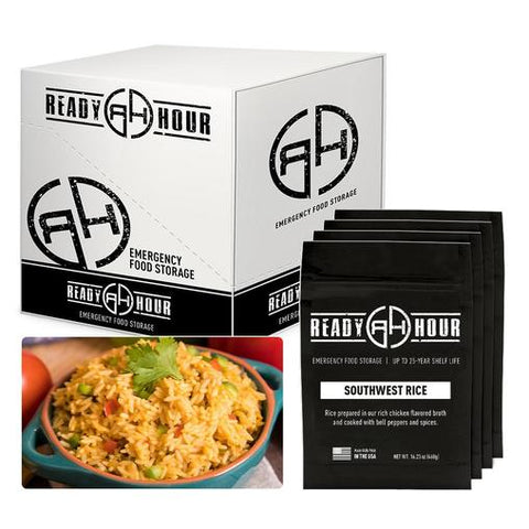 Ready Hour Southwest Savoury Rice Case Pack